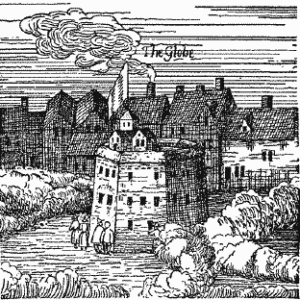 Illustration of a Bankside theatre 1616
