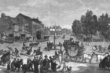 The junction circa 1800
