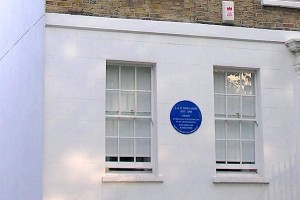 Newlands' birthplace with plaque