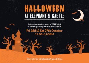 Halloween in Elephant and Castle