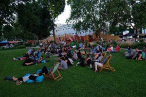 Big Screen fun at Elephant Park until 2 Sept