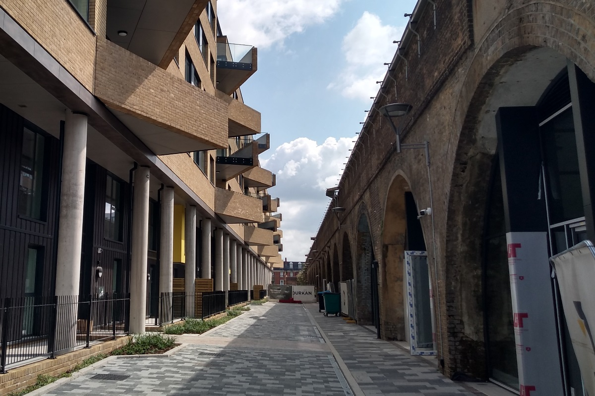 Angel Lane on the Low Line at Manor Place