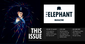 The Elephant Magazine: out now