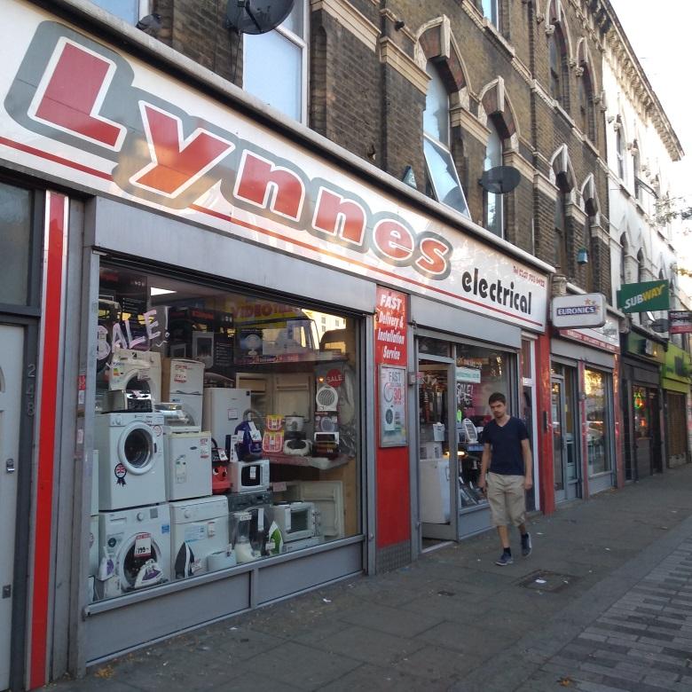 Lynnes Electrical on Walworth Road