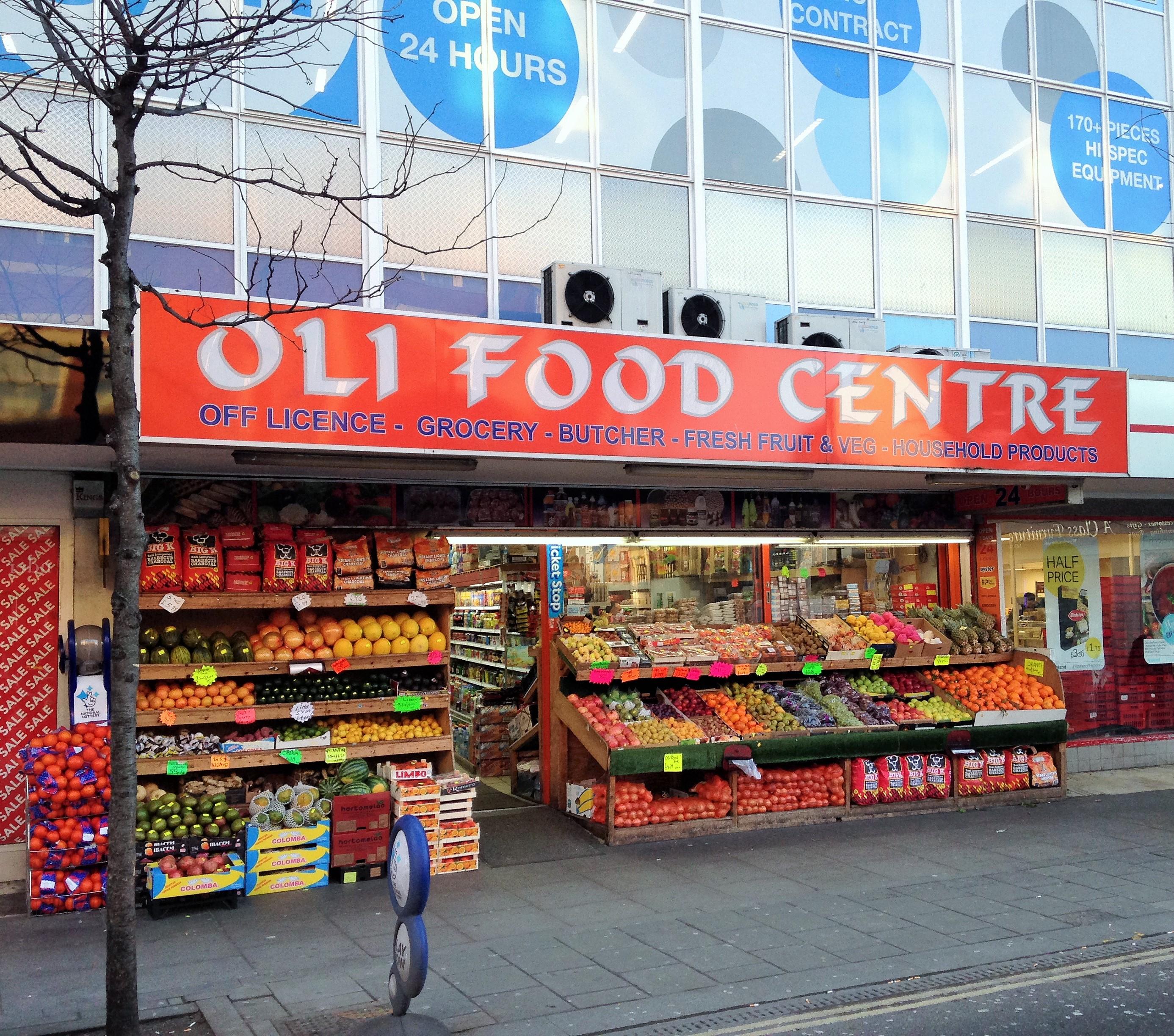 Oli Food Centre on Walworth Road