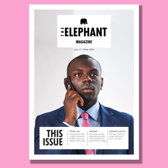 Cover of The Elephant Magazine