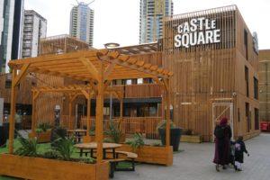 Castle Square now open