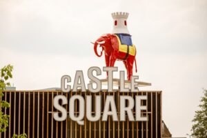 Elephant statue Castle Square